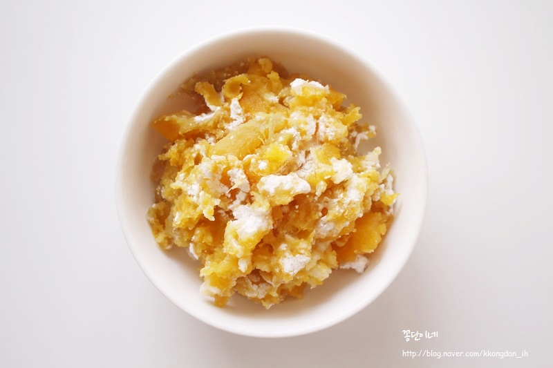 [꽁단맘의 수제간식] 고구마버무리