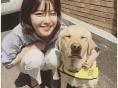소녀시대 수영, 맹인안내견 솔이와 함께