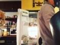 이효리, 음식만 쳐다보는 미미
